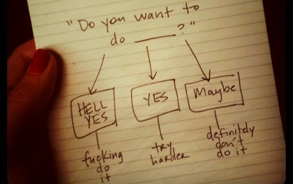 How to make decisions - Amber Rae Hell YEAH Derek Sivers