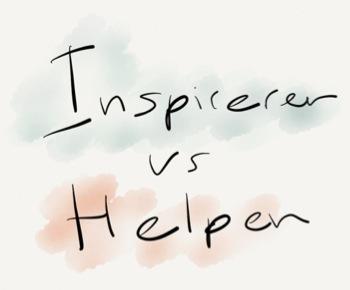 inspireren en helpen