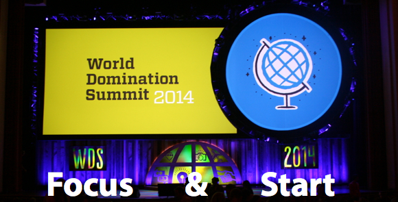 World Domination Summit 2014 WDS2014 Focus Start