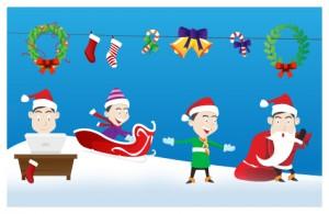 gratis kerst illustraties