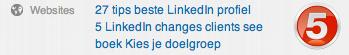 linkedin profiel websites 5 Compleet profiel op nieuwe LinkedIn in 13 stappen