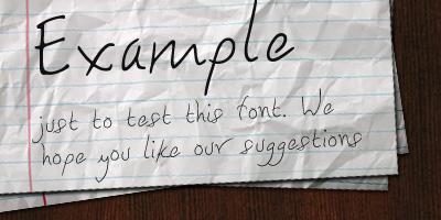 Handwritten Fonts