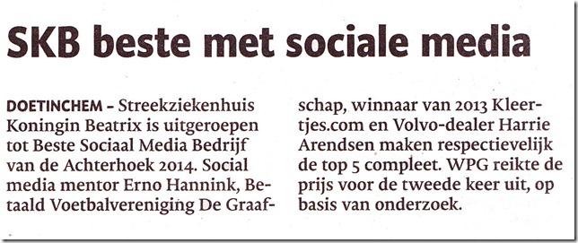 krant de Gelderlander top 5 bsmba
