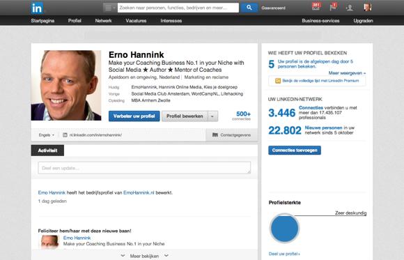 LinkedIn voor de business coach