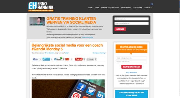 Van website naar Power Platform voor de coach