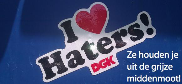 Haters Grijze Middenmott SentAsha