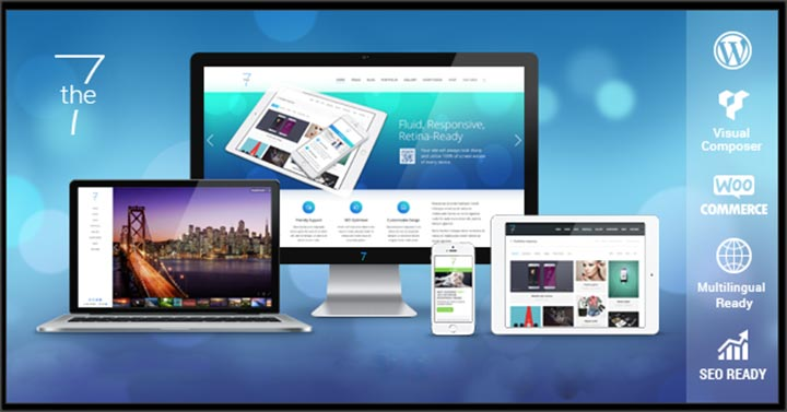 the7 simple responsive wordpress theme