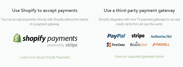 Shopify betaalproviders vergelijken