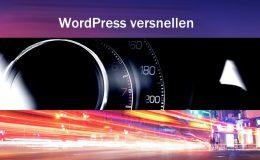 Wordpress versnellen