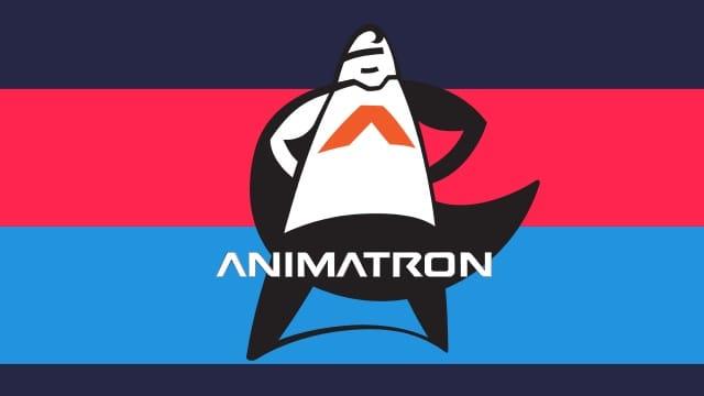 Afbeeldingsresultaat voor animatron logo