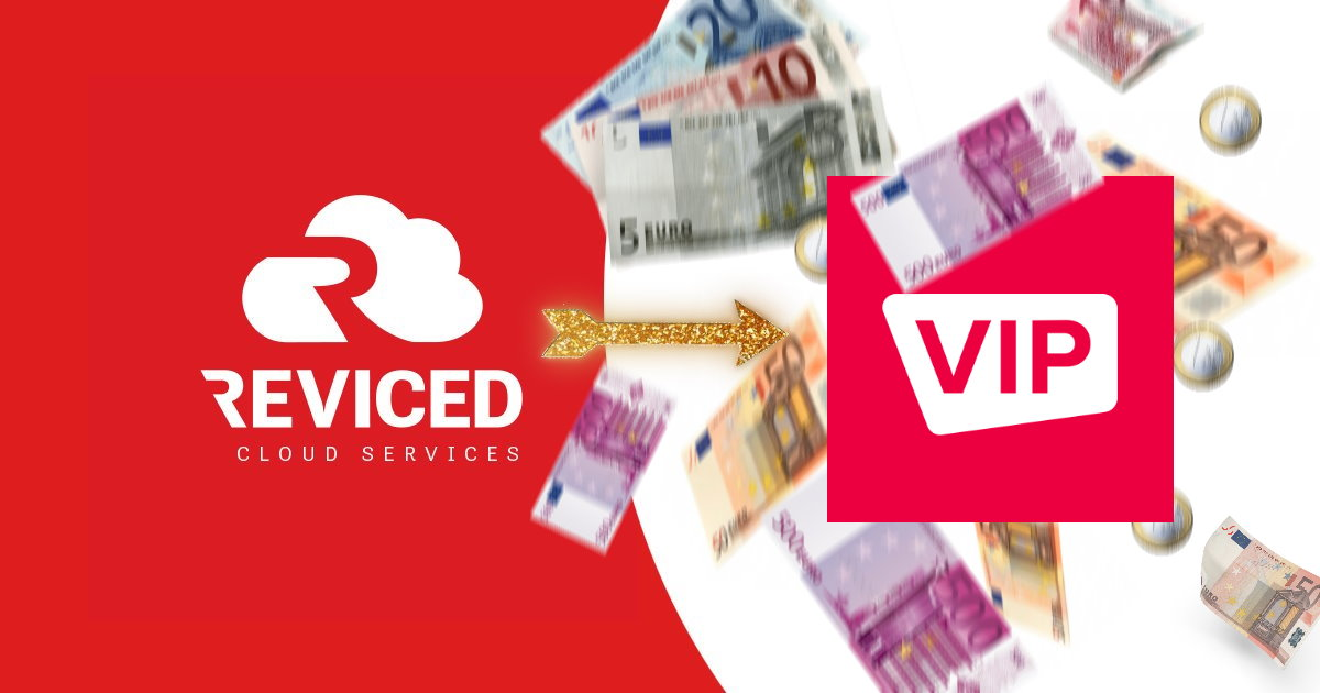 Reviced is nu VIP